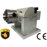 Best 80mm Tilt Angle Rotary Axis For Laser Engraving Machine , Gear 8 : 1 wholesale