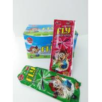 China Candy Stick With Fly Leaf and Sticker Combine Eating and Fun Kid's Love on sale