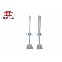 China Steel Hollow Or Solid Scaffolding Screw Jack Base For Construction Building on sale