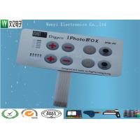 Buy cheap Embossing Polydome Switch With Led Display Band , Tactile Membrane Push Button from wholesalers
