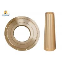 China Centrifugal Casting Socket Liner Customized Bronze Taper Bushings on sale