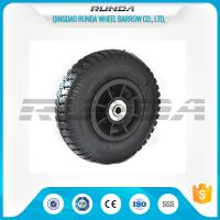 China Plastic Rim Pneumatic Rubber Wheels SGS , 8 Inch Pneumatic Wheels For Trolleys on sale