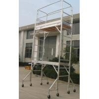 Best Double Formwork Outdoor Aluminium Mobile Scaffold For Cleaning Gutters wholesale