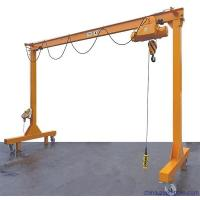 China Mobile Small Gantry Hoist 3T 5T 10T Lifting Capacity Steel Structure High Strength on sale
