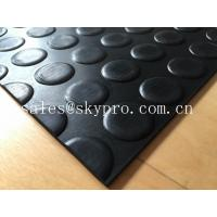 Best Heavy duty Flooring / gasket 2.5mm - 20mm Rubber Sheet Roll Smooth / embossed Surface wholesale
