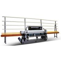 China GLASS STRAIGHT-LINE BEVELING MACHINE WITH 10 SPINDLES FOR SMALL PIECE OF GLASS on sale