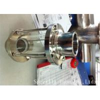 Best ASTM A270 Sanitary Stainless Steel 304 Fittings Sight Glass For Chemical Industries wholesale