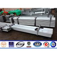 China 11kv 33kv Electrical Tower Pole Galvanized Steel Angle Iron Channel  Steel For Power Transmission on sale