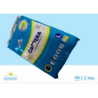 Best Chemical Free Disposable Baby Diapers Super Absorbent With Clothlike Film wholesale