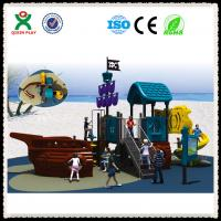 China Kids Outdoor Pirate Ship Playground Equipment for Sale on sale