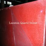 Best cheap prices artificial quartz rose red quartz stone wholesale
