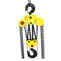 China Safe 10 Ton Manual Chain Hoist , Chain Pulley Block With Hook Good Performance on sale