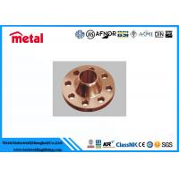 Best Precision Copper Nickel Pipe Fittings Copper Pipe Flange High Destructive Turbulence wholesale