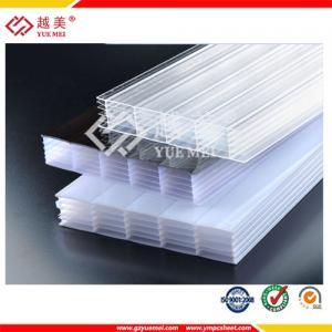 Best 2015 hot sale transparent polycarbonate multiwall sheets price wholesale
