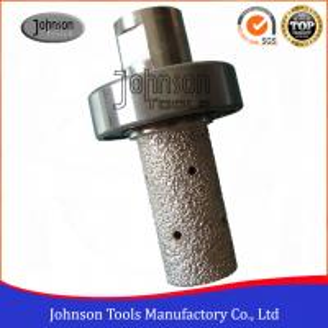 Best Vacuum Brazing Diamond Tools Diamond Milling Bits For Grooving Stone wholesale