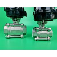 Best Carbon Steel Electric Ball Valve For Water , Sea Water , Sewage , Oil wholesale