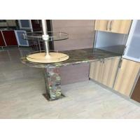 Best Residencial Green Granite Countertops Kitchen Sink Countertop Top / Edges Polished wholesale