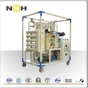 China High Voltage Electric Transformer Oil Purifier Machine Horizontal Online Work on sale
