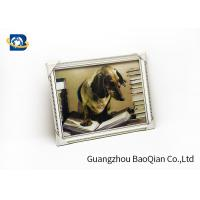 Best Dog Animal 3D Lenticular Pictures PVC / MDP Frame Decoration Of Free Sample wholesale