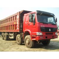 Best Howo 8 by 4 heavy duty dump truck 8 Meters Front Tipper 45 tons loading for construction / mining wholesale