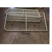 China 0.9m height x 20mBlack Chain Link Fence Cost PVC coated fence/ diamond fence on sale