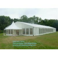 Buy cheap Chinese Waterproof Marquee Gazebo Tent 4x4m With Glass and ABS walls product