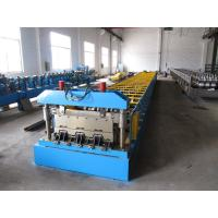 Buy cheap Roof Construction Deck Roll Forming Machine With 30 Groups Rollers product