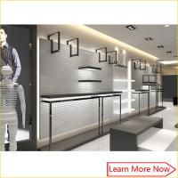 China Guangzhou high end retail garment clothing shop interior design for men clothing shop display on sale