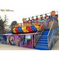 Best Space Disco Family Amusement Rides 3 M Height 8--12 Rpm For Shopping Mall wholesale