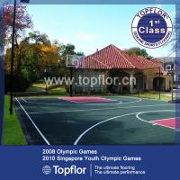 PP/PVC interlocking sports flooring for indoor/outdoor sports court