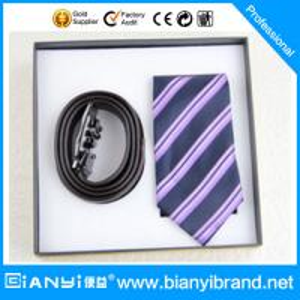 Best Latest Popular Satin Fabric Printing Necktie Gift Set For Men wholesale