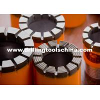 Best Wireline Diamond Core Drill Bits For Granite , Impregnated Bit Geological Drilling NC3 wholesale