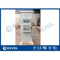 China Single Wall Outdoor Electronic Equipment Enclosures Heat Insulation Including 38U Rack on sale