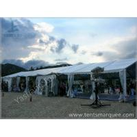 Cheap 8x27M Outside custom event tents Aluminum Frame Built on the Coast for sale
