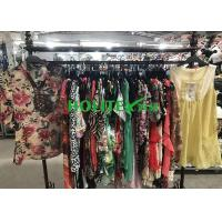 Best Clean High Quality Second Hand Clothes ,  Popular Used Girls Clothes Silk Blouse wholesale