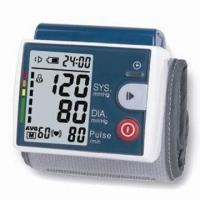 Best Wrist Blood Pressure Monitor with 3mmHg Pressure, 5% Pulse Rate and Accuracy wholesale
