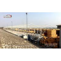 Buy cheap White PVC waterproof Warehouse Tent 20x150M Temporary Industrial Tent from wholesalers