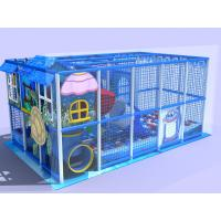 Best Sea Creature Theme Indoor Amusement Park Equipment / Indoor Climbing Structure For Toddlers wholesale