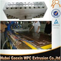 Best High speed plastic extrusion moulds made in China for WPC door panel wholesale