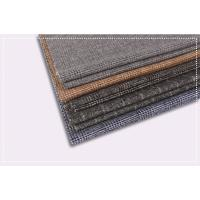 Best Tartan Plaid Coating Wool Fabric , Double Faced Cashmere Fabric ISO 9001 Certificate wholesale