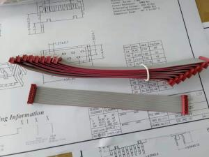 Best Chinese factory supply IDC Cable assembly, 2*7pins, male to socket, L=160MM wholesale