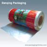 China Laminated Plastic Printed Packing Film Roll , Aluminum Foil Food Packaging Film wholesale