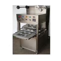 China KIS-1 Table Type Semi Automatic Tray/cup Sealing Machine with gas filling and expiration date printer on sale