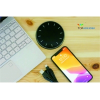 Best 10mm Thickness Fast Charge Wireless Charging Pad 10W With LED Light wholesale