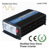 Buy cheap DC AC 1500 watt off grid solar power inverter with two sockets and one USB port from wholesalers