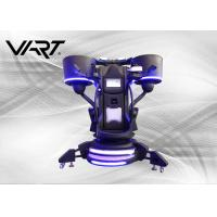 1 Player Virtual Reality Flight Simulator With One Stop Emergency Button