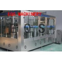 Best 3 in 1 Carbonated Drink Filling Machine Sus 304 Material With Washer / Filler / Capper wholesale