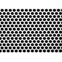Best 3mm Thick  Aluminum Perforated Metal , Powder Coated Perforated Alum Sheet AA1100 wholesale