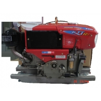 China Hand Cranking 113KGS 12HP 8.82KW 4 Stroke Diesel engine on sale