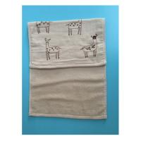 cotton double-deck yarn dyed jacquard face/hand towel